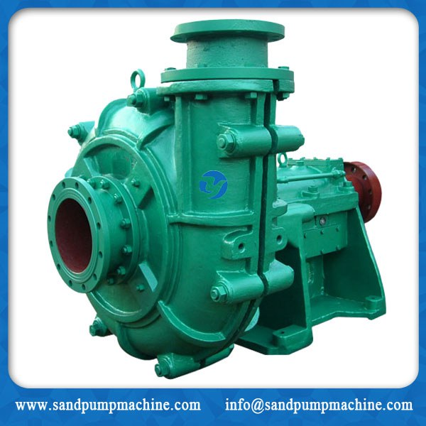 Centrifugal mine slurry pump