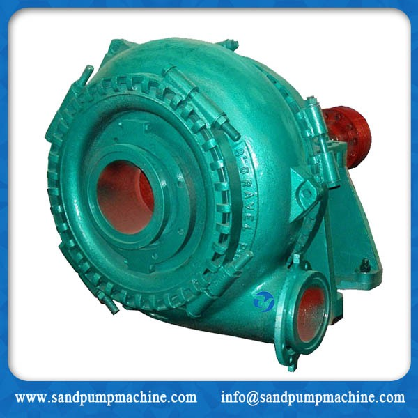 Heavy duty big particle gravel sand pump