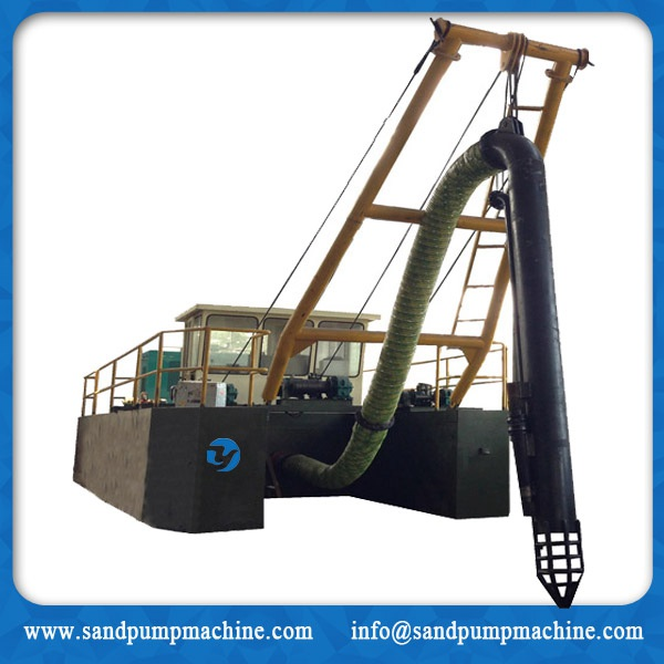 Jet sand suction dredger