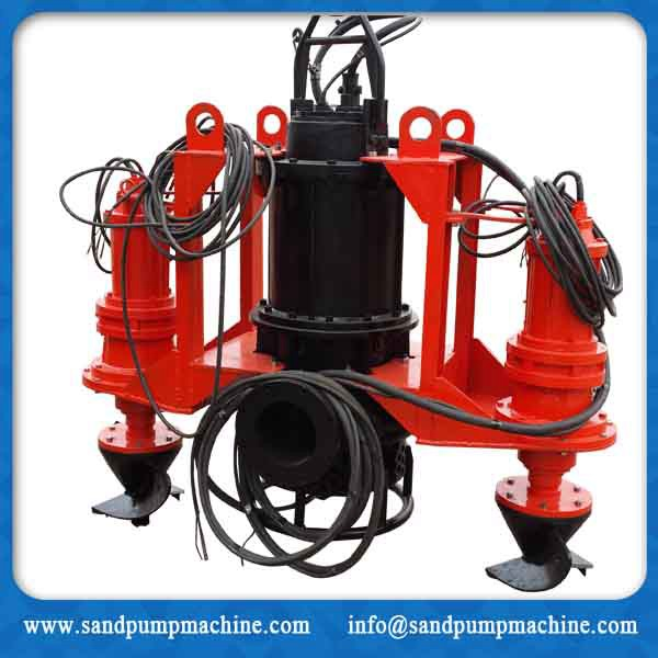New type submersible slurry pump