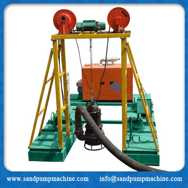 Submersible slurry pump dredger