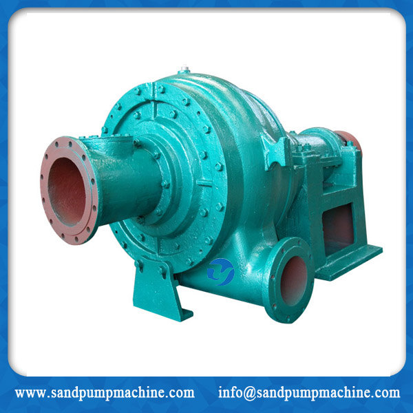 Wear resistant sand pump with high efficiency for dredger