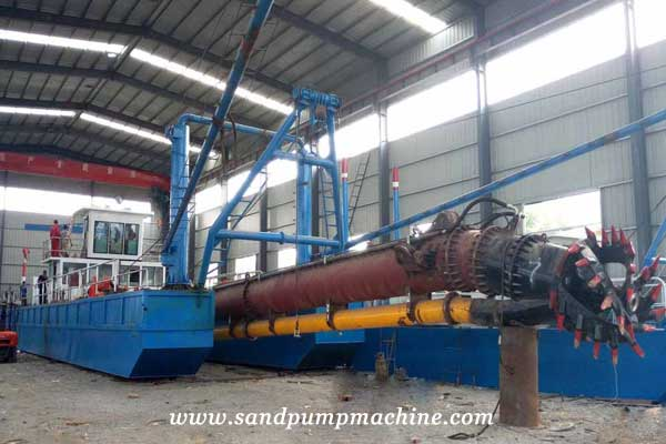 cutter suction dredger of Ocean Pump