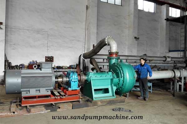 dredge pump factory testing of Ocean Pump