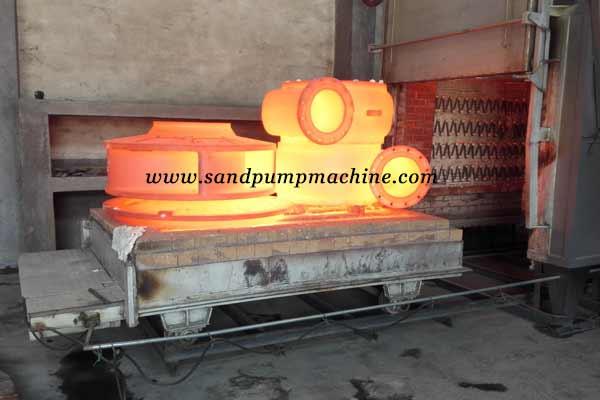 portable slurry pump heat treatment of Ocean Pump