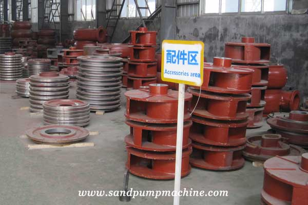sand dredging pumps of Ocean Pump