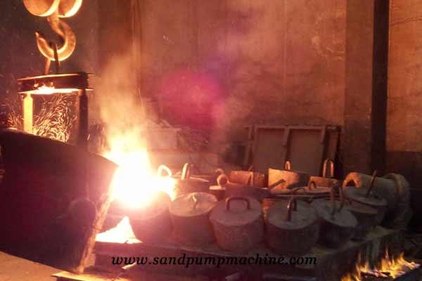 sand gravel pump Molten iron casting of Ocean pump