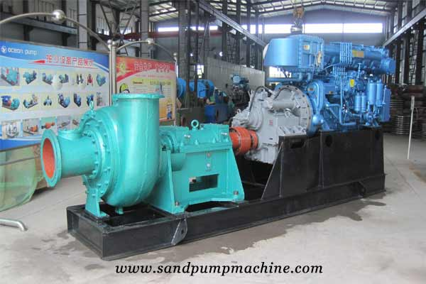 sand pump manufacturer of complete set