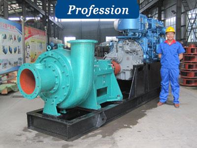 professional sand dredger pump