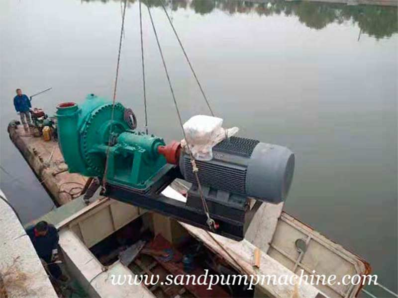 Ocean Brand Booster Sand Pump Sent to Jinan for Dredging Operation