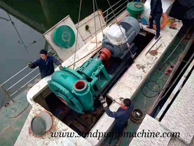 Ocean Brand Dredging Equipment Sent to Jinan for Dredging Operation