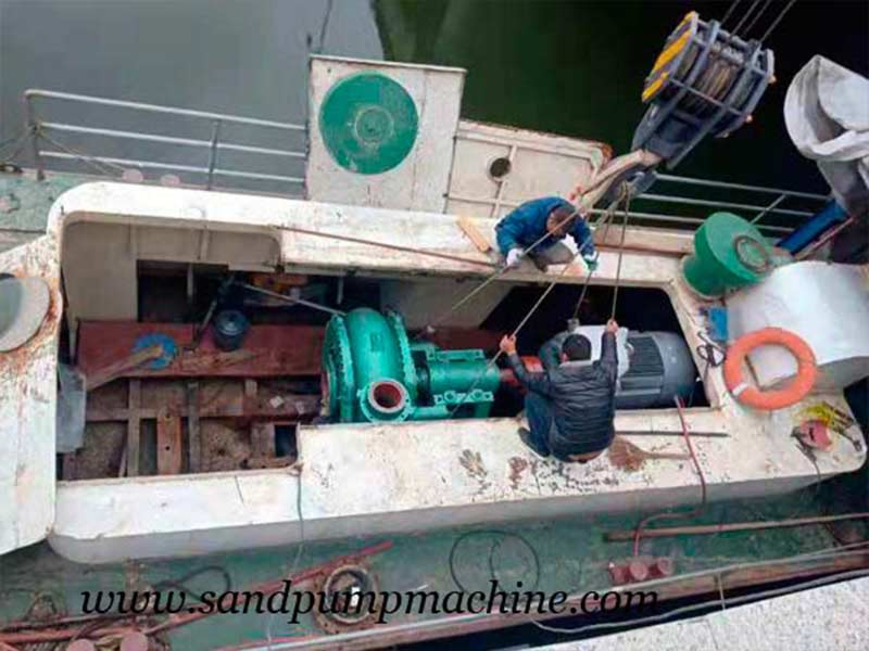 Ocean Brand River Dredging Pump Sent to Jinan for Dredging Operation