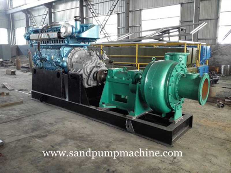 Significance and Effect of the Torque of Sand Mining Pump Set