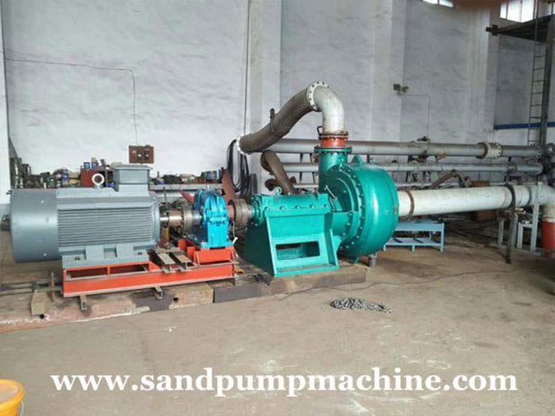 Significance and Effect of the Torque of Sand Pump Set
