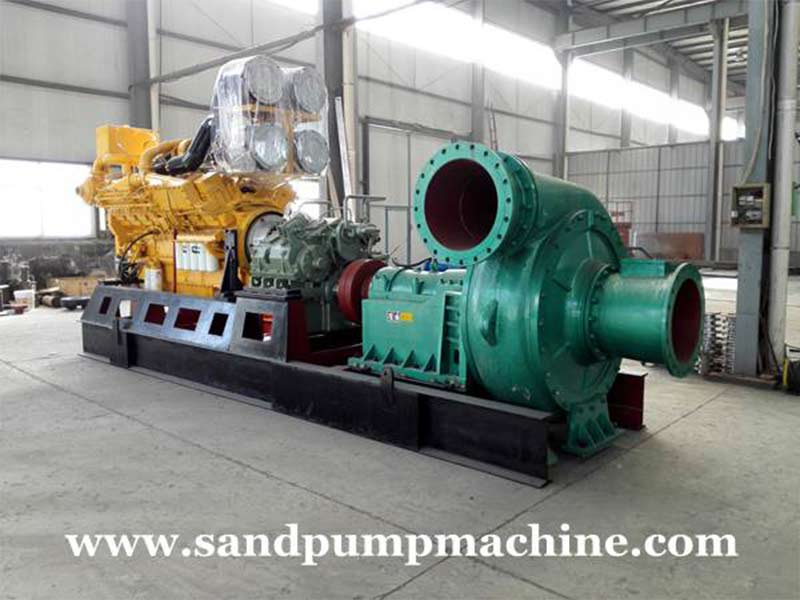 Significance and Effect of the Torque of Sand pumping Machine Set