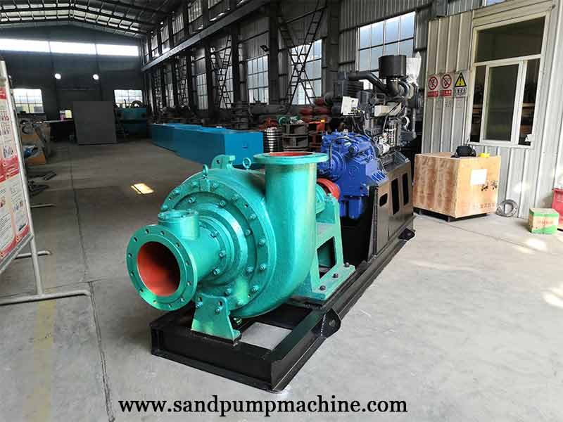 12 inch Centrifugal Sand Pump Set Sent to Cambodian for River Dredging