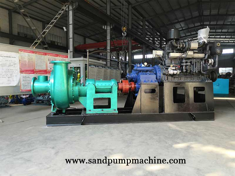 12 inch Sand Pumping Machine Set Sent to Cambodian for River Dredging