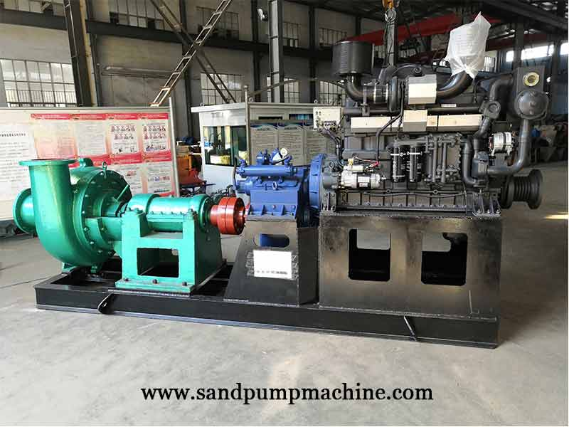 12 inch Sand Suction Pump Set Sent to Cambodian for River Dredging