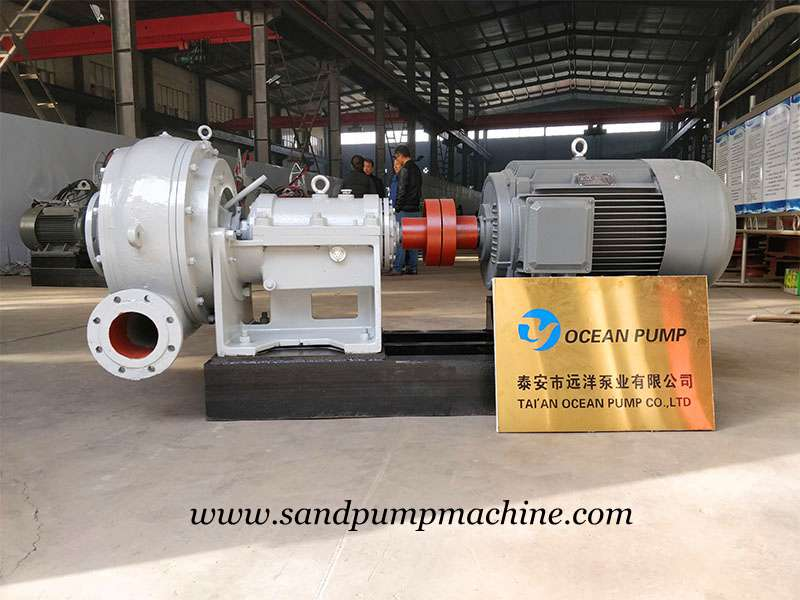 Dredging Pump Sent to Malaysia for Sedimentation Tank