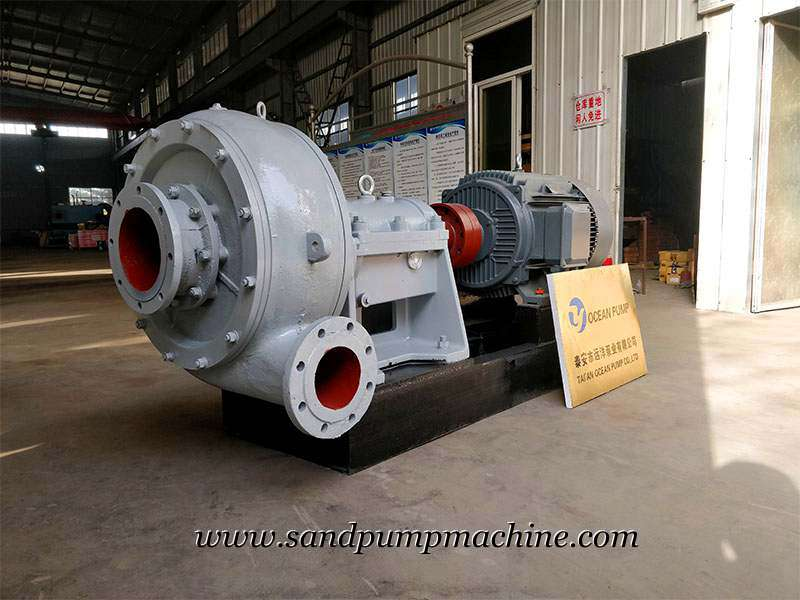 Heavy Duty Slurry Pumps Sent to Malaysia for Sedimentation Tank