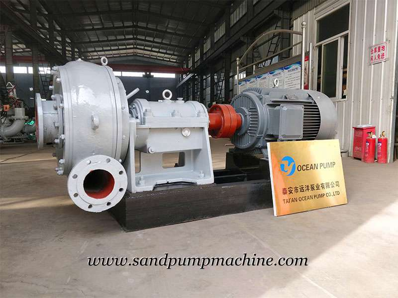 Sand Pump Sent to Malaysia for Sedimentation Tank