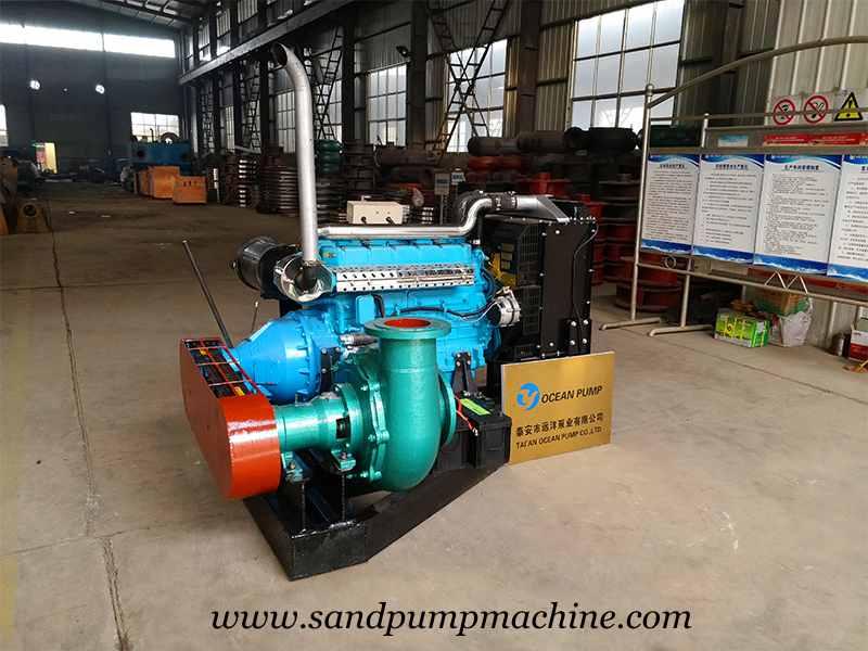 Sand Dredge Pump Sent to South Africa for Sand Dredging