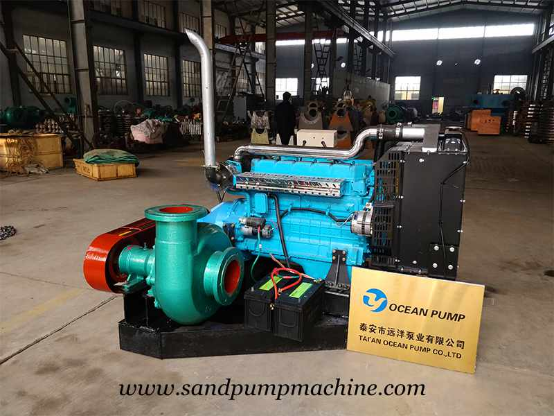 Sand Pump Sent to South Africa for Sand Dredging