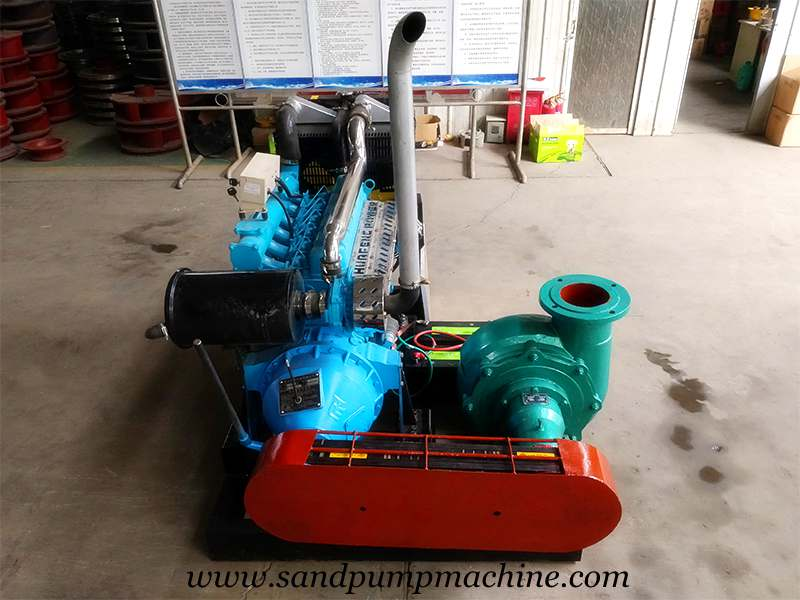 Sand Suction Pump Sent to South Africa for Sand Dredging