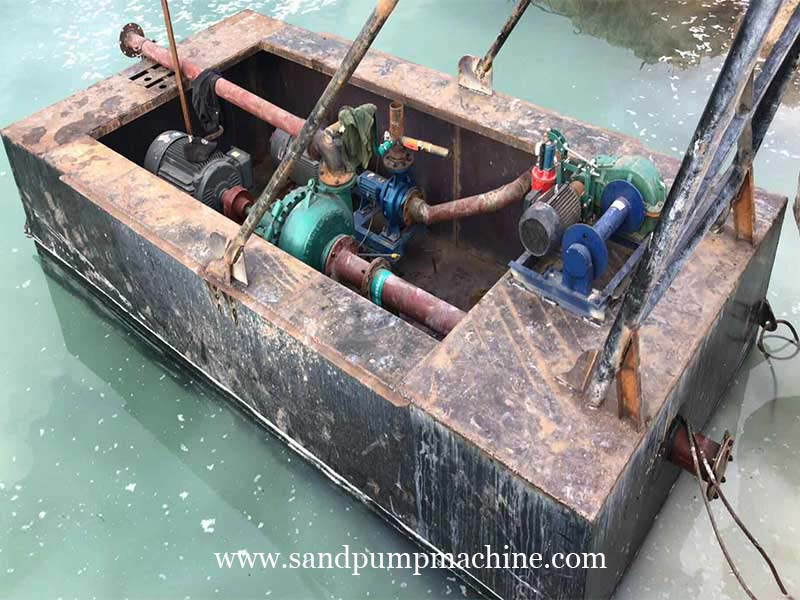 Gravel Pump Delivered to Indonesia for Sand Pumping