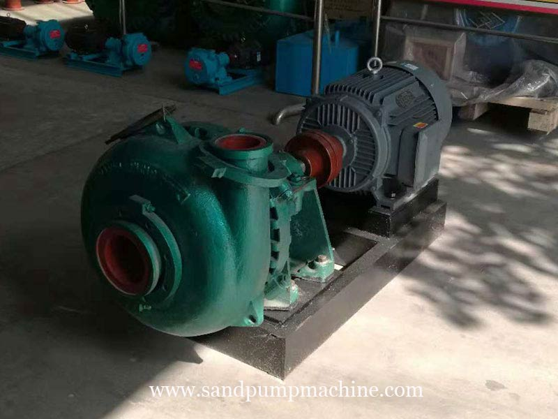Large Particle Sand Pump Delivered to Indonesia for Sand Pumping