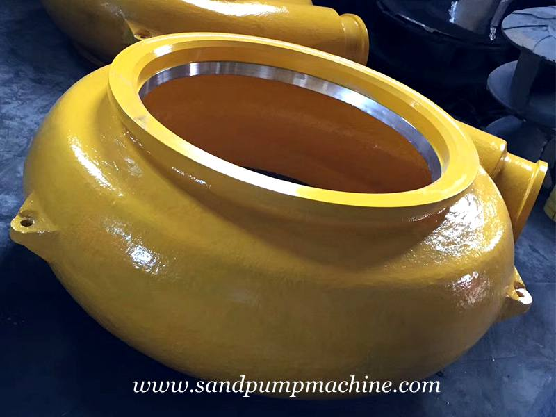 Material Differences of Sand Pumping Machine