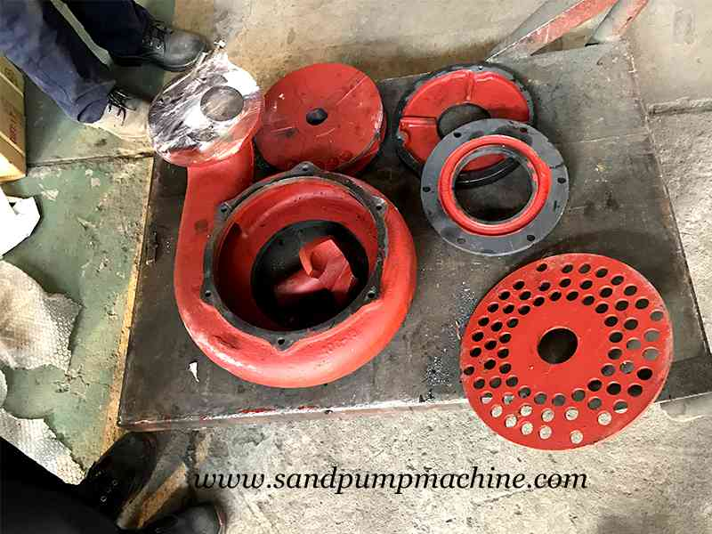 Material Differences of Sand Suction Pump