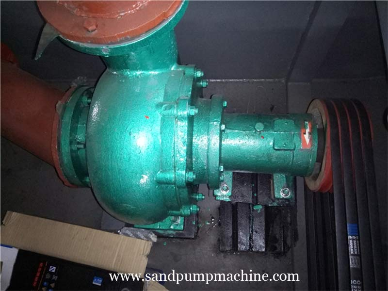 Sand Pump Machine Sent to Nanyang for Reservoir Sand Pumping