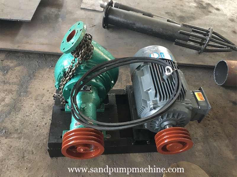 Sand Pump Sent to Nanyang for Reservoir Sand Pumping