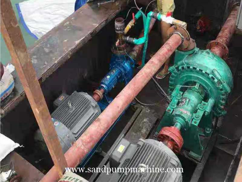 Sand Suction Pump Delivered to Indonesia for Sand Pumping