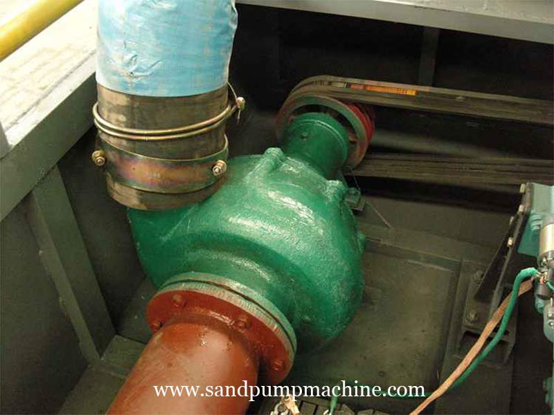 Sand Suction Pump Sent to Nanyang for Reservoir Sand Pumping
