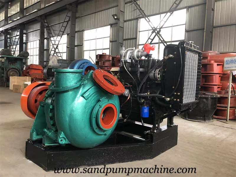 6 inch Gravel Pump was Delivered to Jiangxi