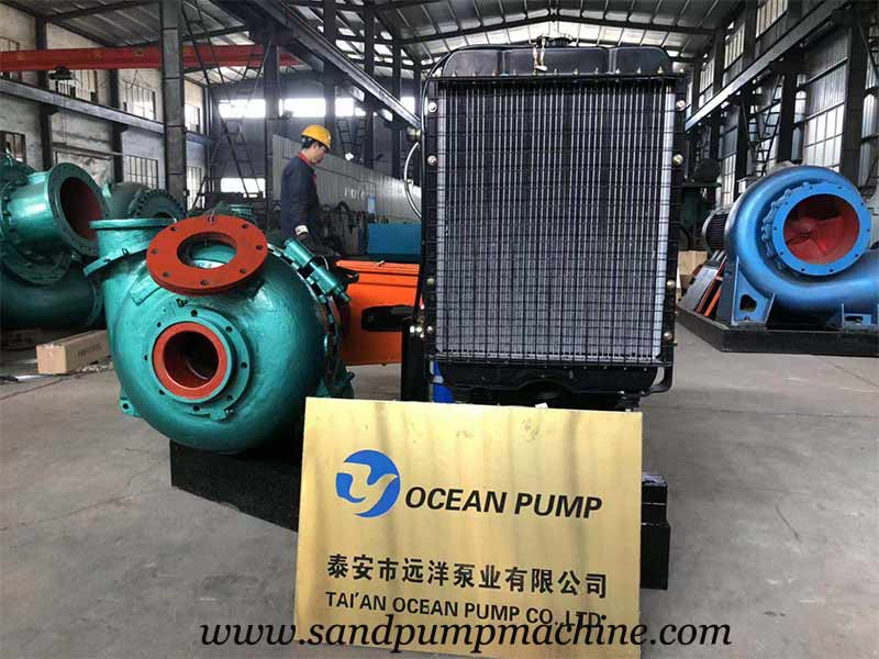 6 inch Large Particle Sediment Pump was Delivered to Jiangxi
