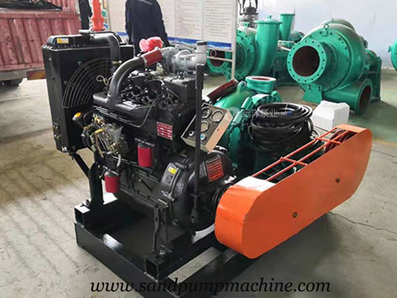 6 inch Sand Suction Pump was Delivered to Jiangxi