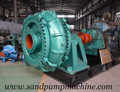 12 Inch Large Particle Suction Pump Delivered to Indonesia