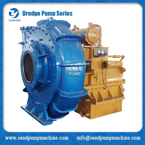 heavy duty submersible dredge pump