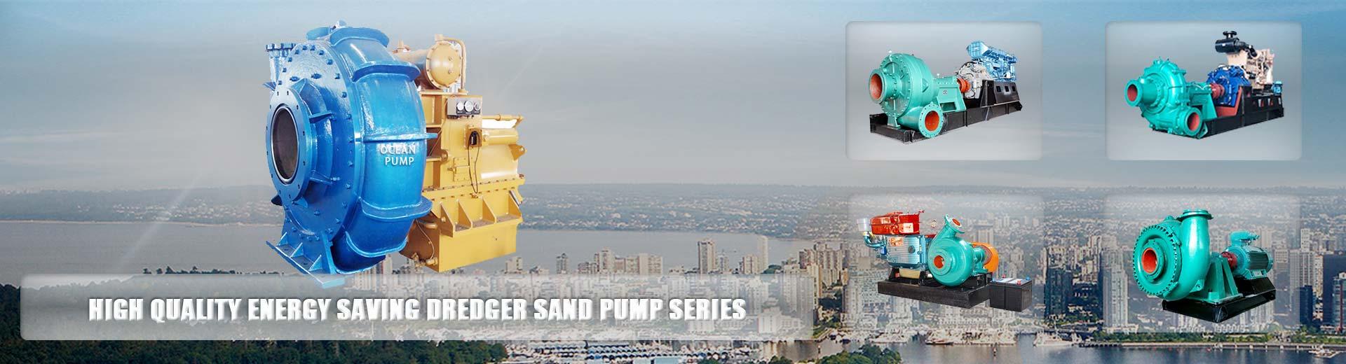 sand pump banner