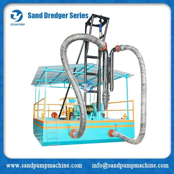 sand dredger series